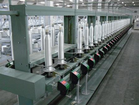 和记纺织生产车间