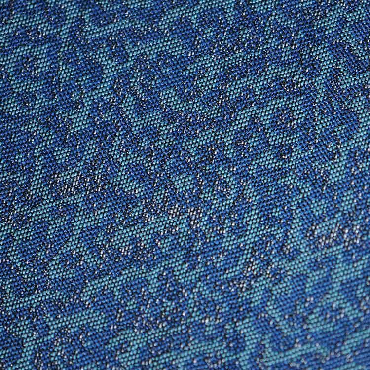 蓝彩藤蔓纹设计DS8156面料