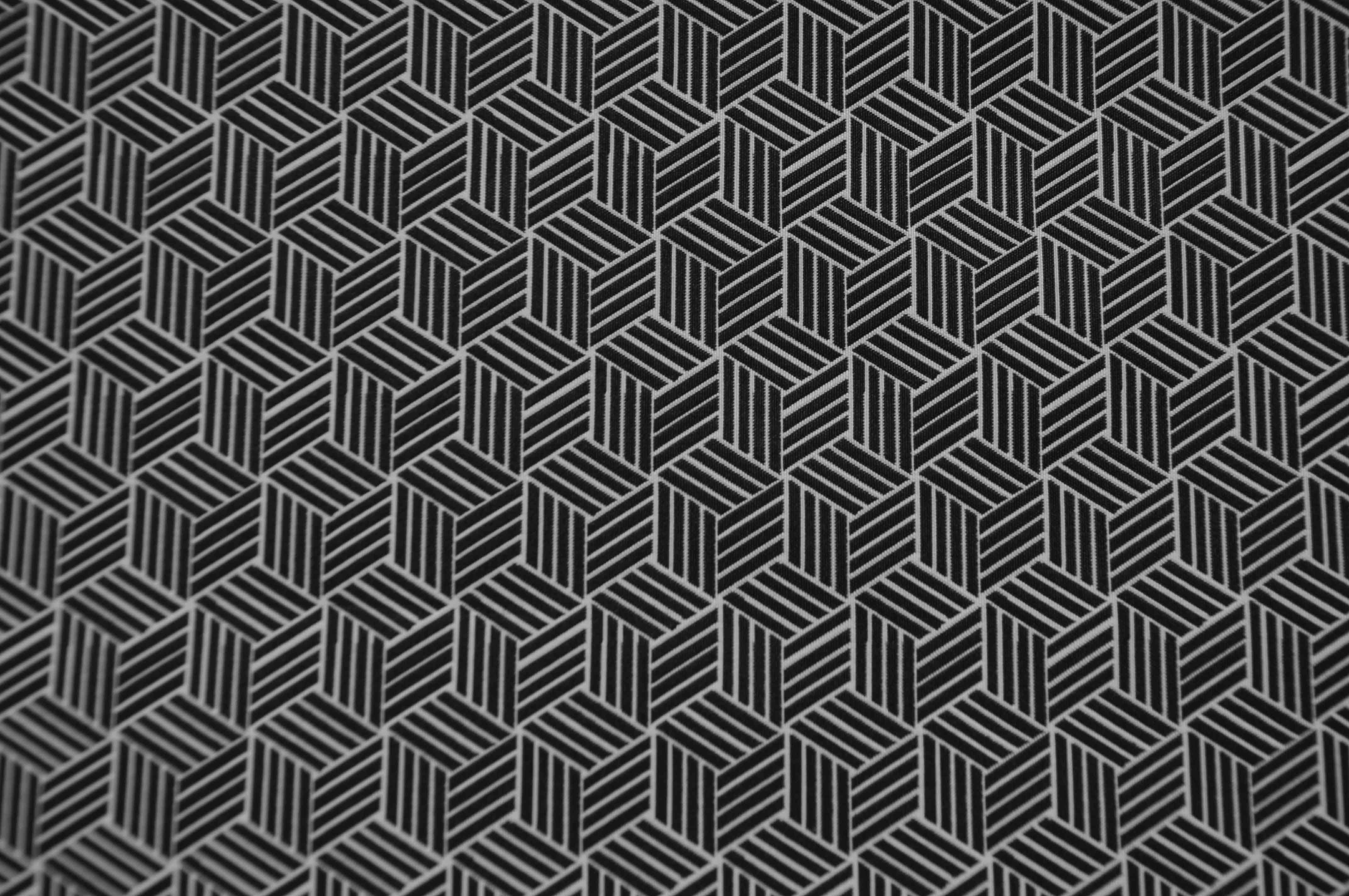 条纹菱形格交叠几何DS8076提花面料