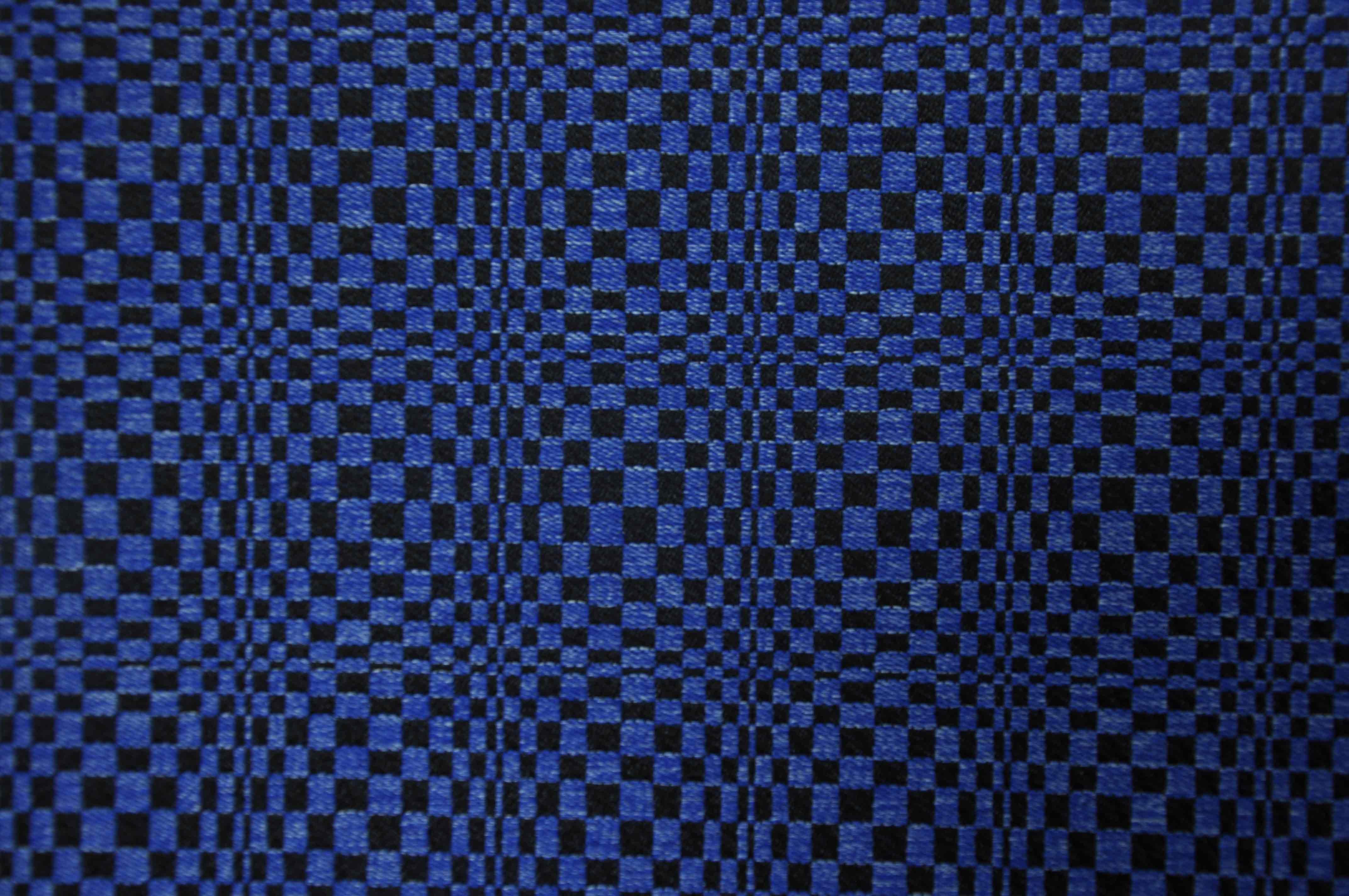 蓝彩变幻斑马纹DS8115提花面料
