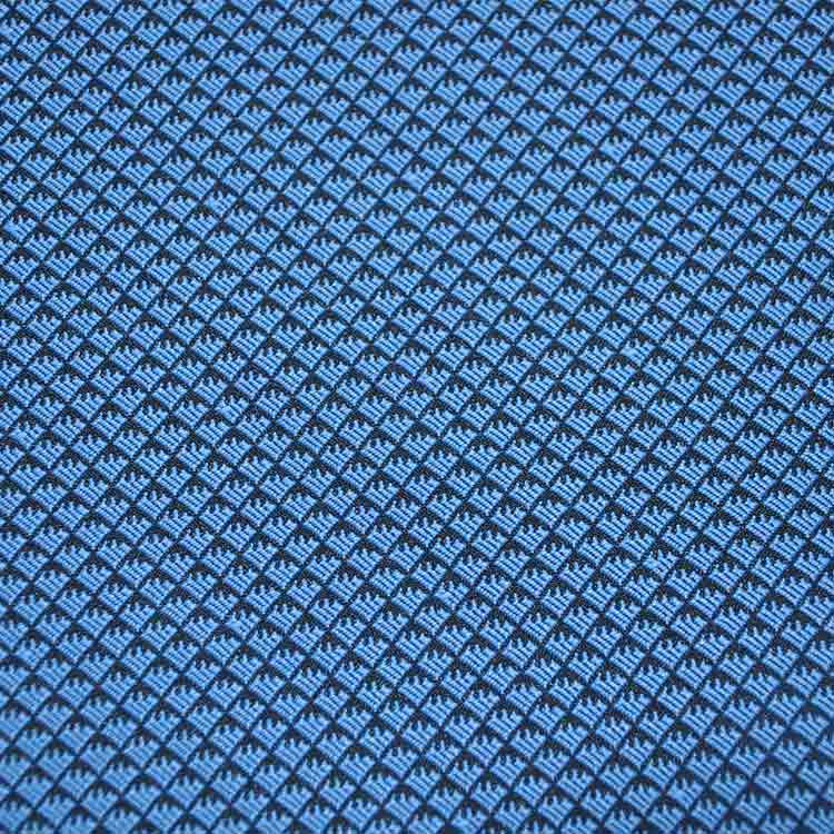 蓝色鱼鳞纹设计面料DS8142