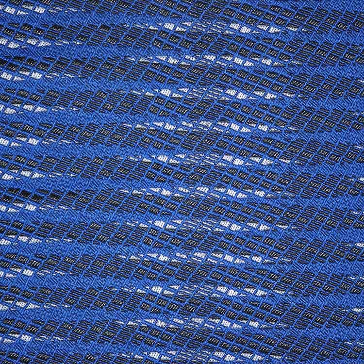 斑马网格纹面料DS8146